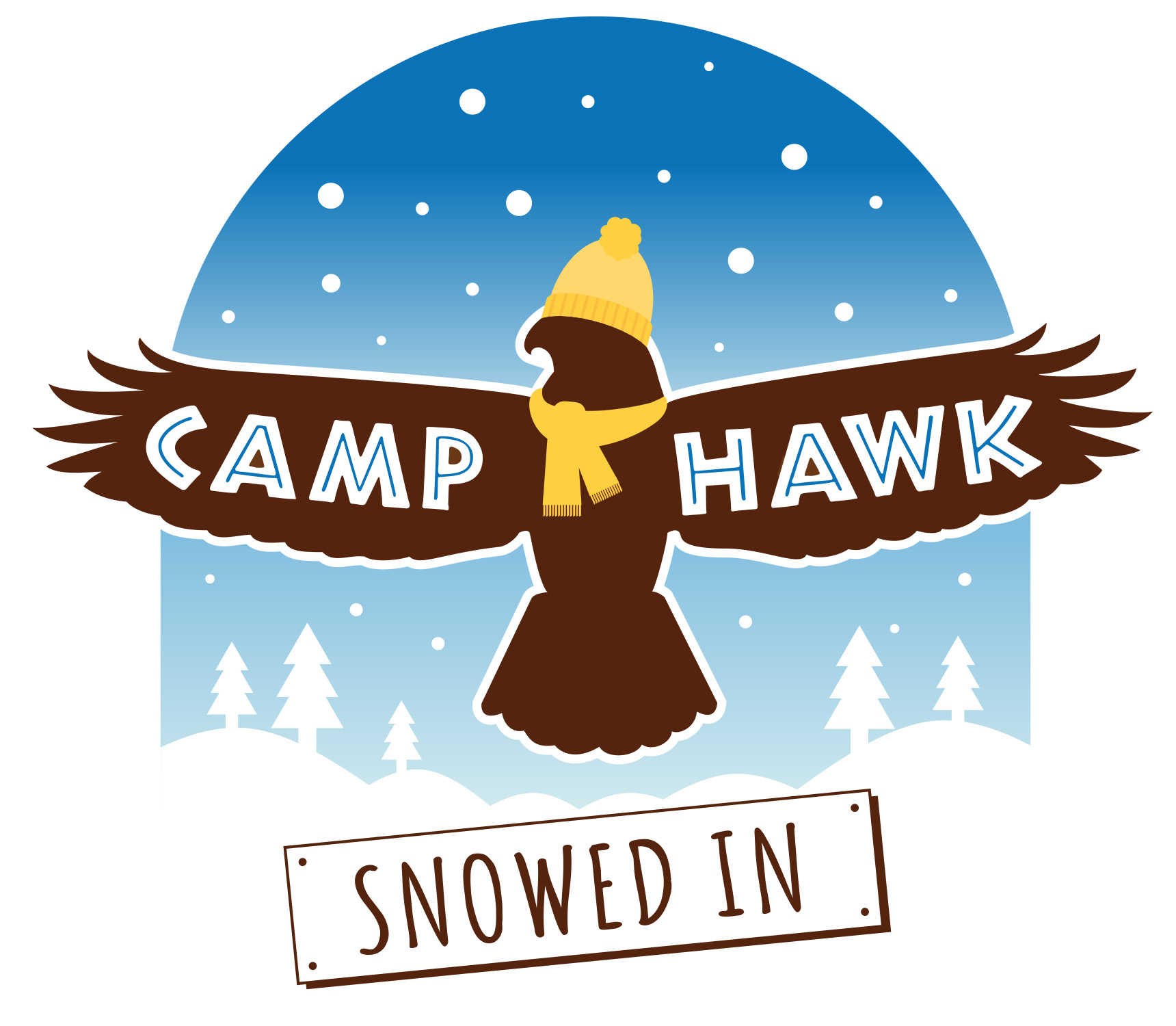 Camp Hawk: Snowed In logo