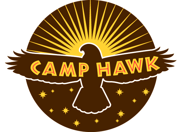 Camp Hawk logo