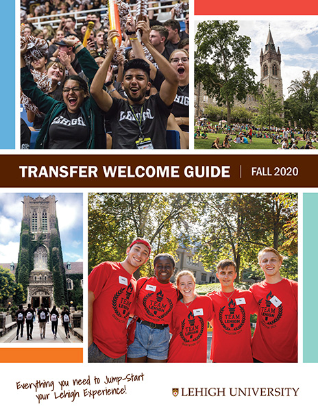 Transfer student Welcome Guide cover