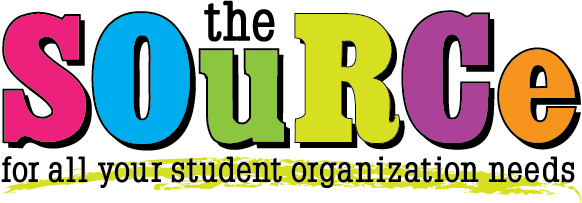 the SOuRCe for all your student organization needs