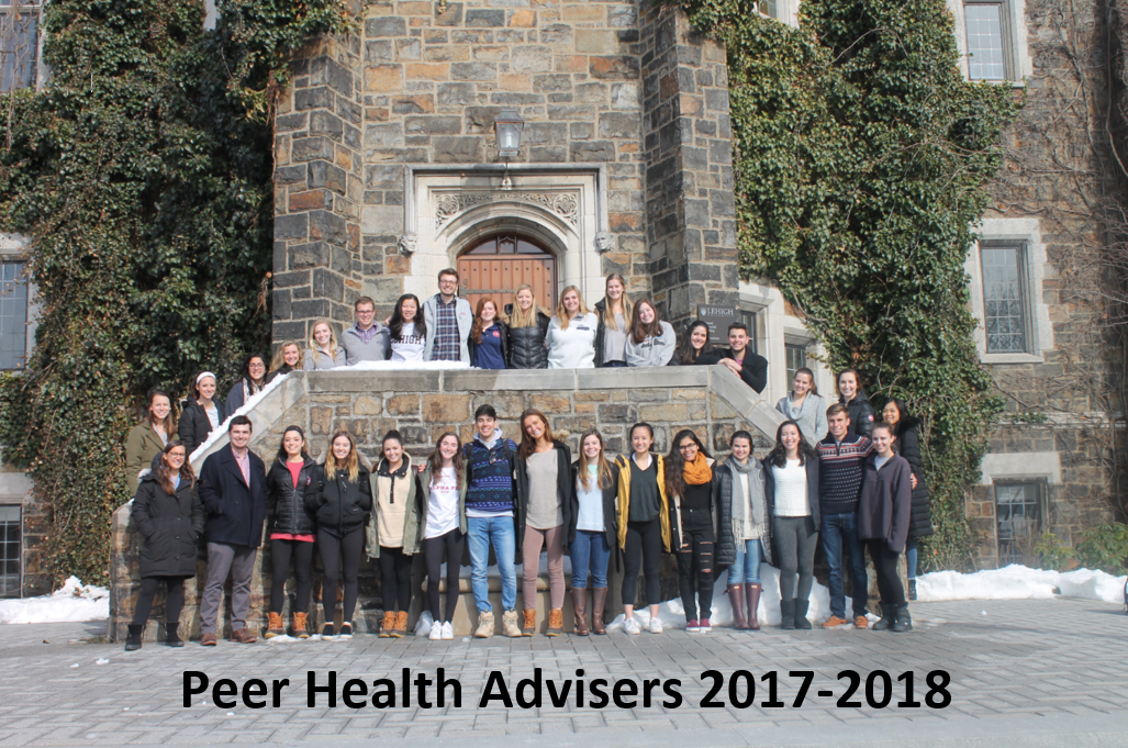 2017-2018 Peer Health Advisers