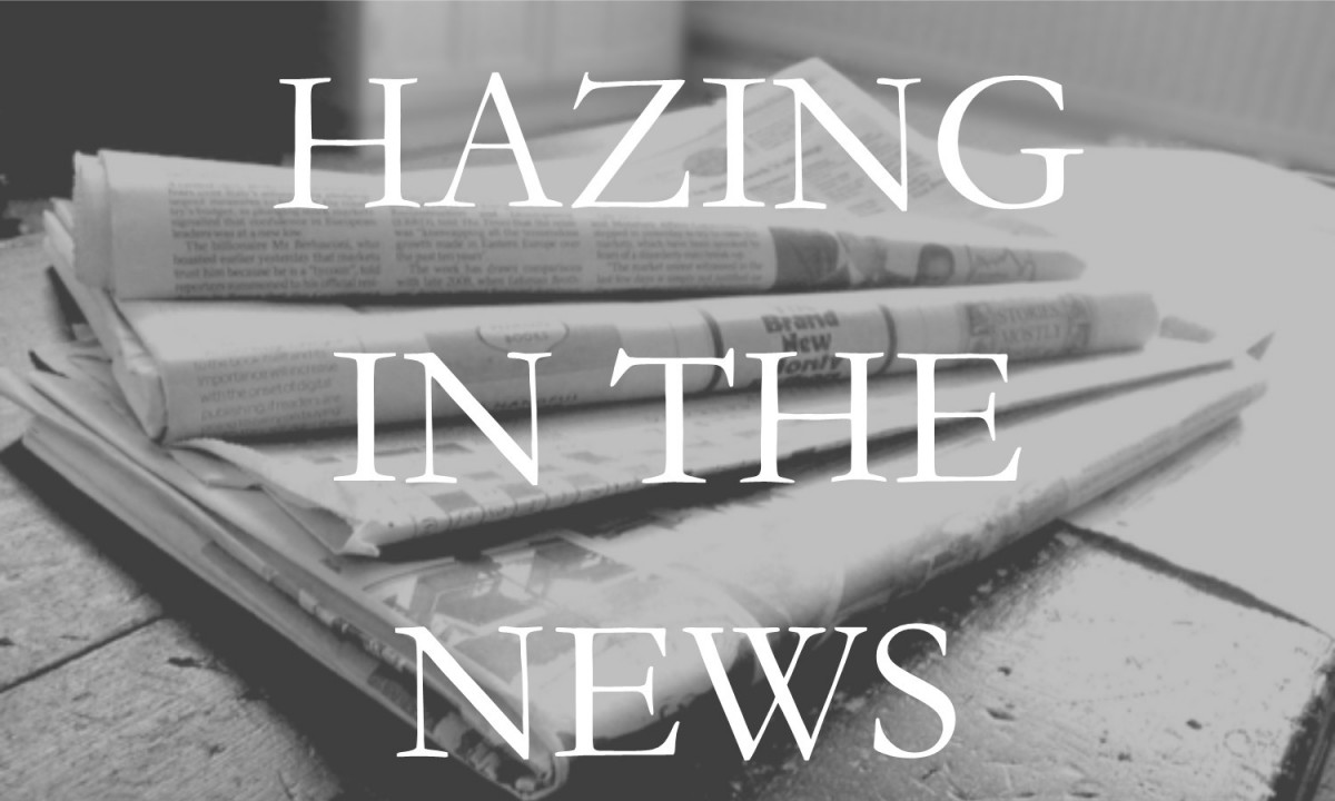 Hazing in the News