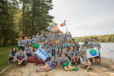 camp hawk group photo