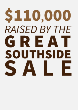 $110,000 raised by the Great Southside Sale