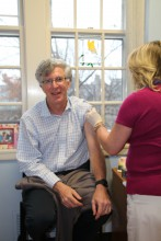 Simon Says Get Your Flu Shot!