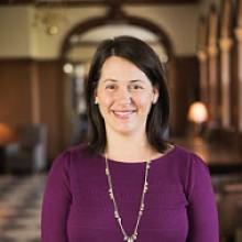 Interim Dean of Students, Katherine Lavinder