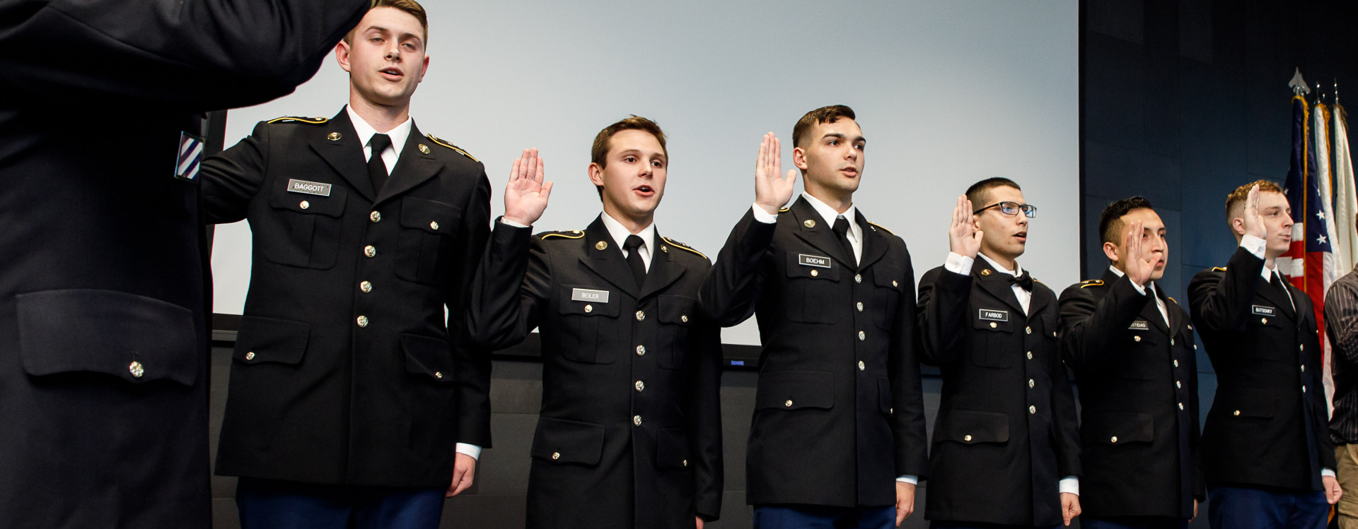 Cadets Swearing In Spring 2019