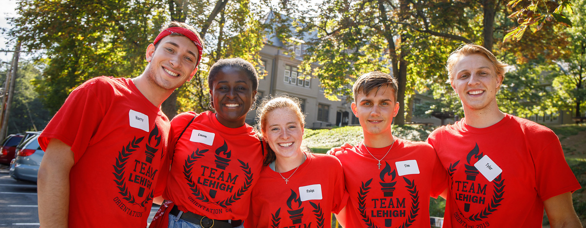 Orientation Leaders at Move in