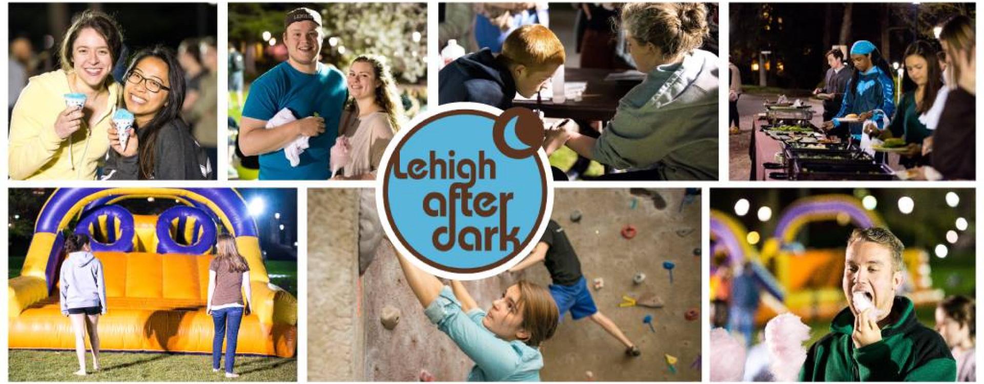 Lehigh After Dark banner with logo