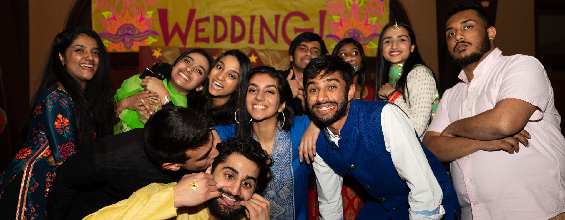 "Students host ""Big Fat Desi Wedding"" as a late-night event."