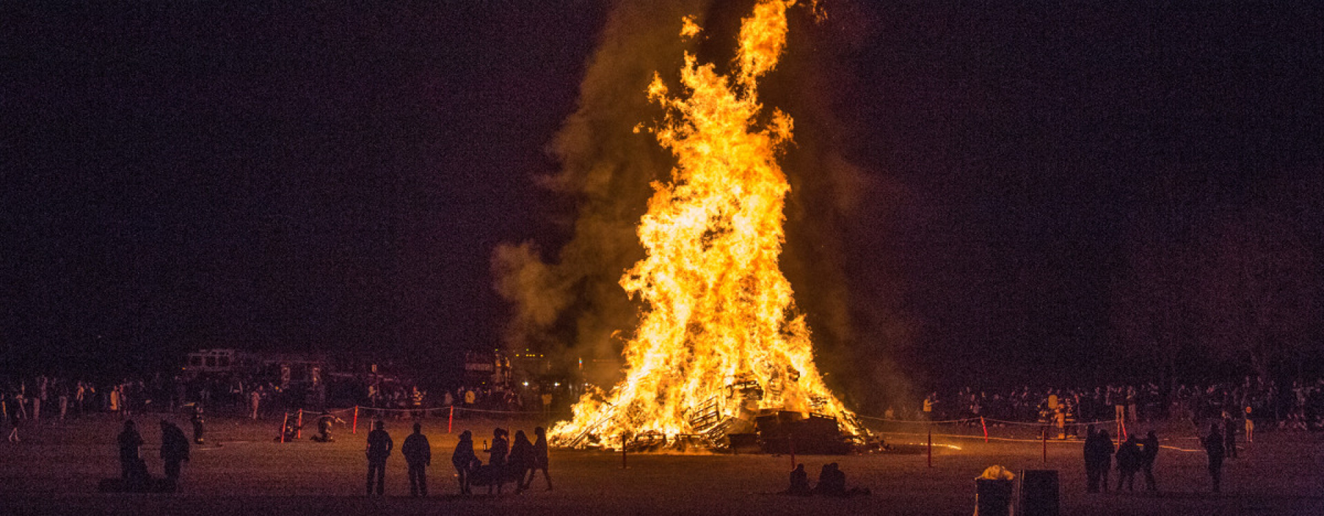 Lehigh After Dark's Slow Burn Bonfire