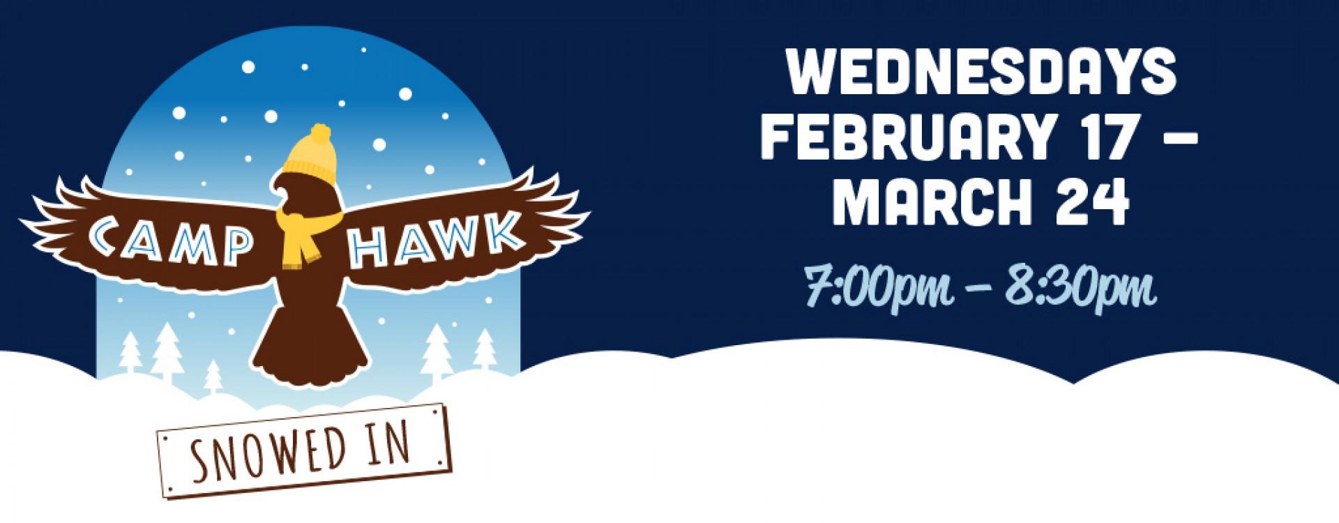 Camp Hawk: Snowed In logo