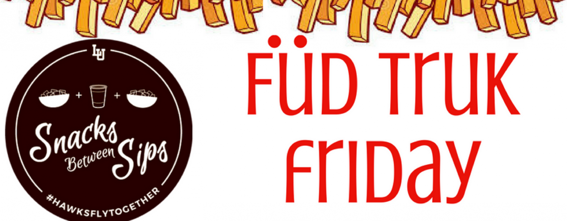 Free fries and bottled water in partnership with Peer Health Advisors
