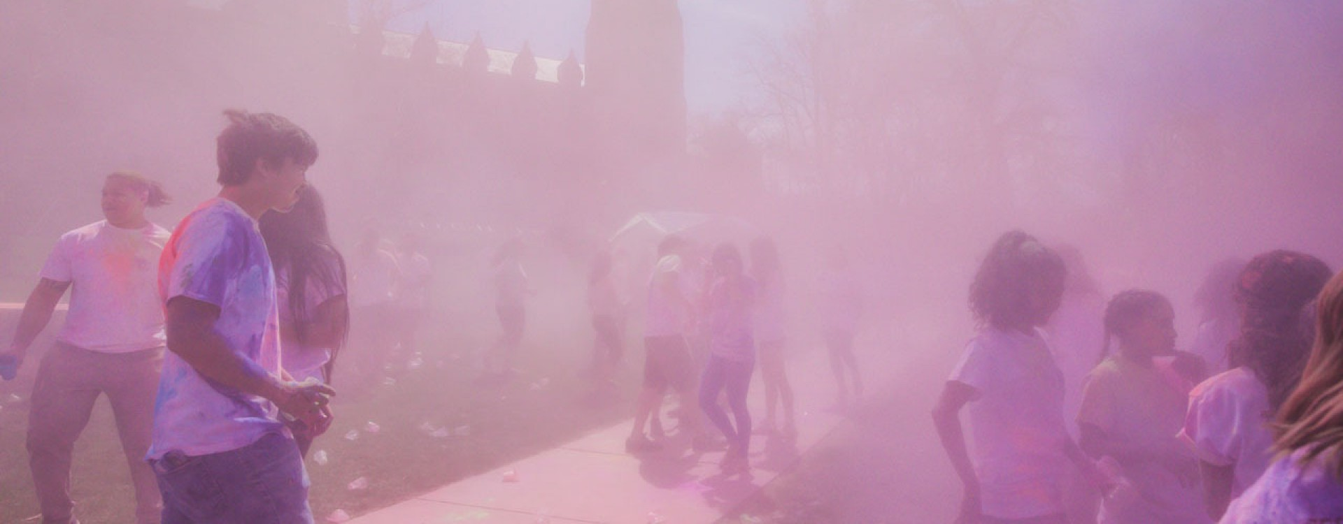 Indian Student Association - Holi event