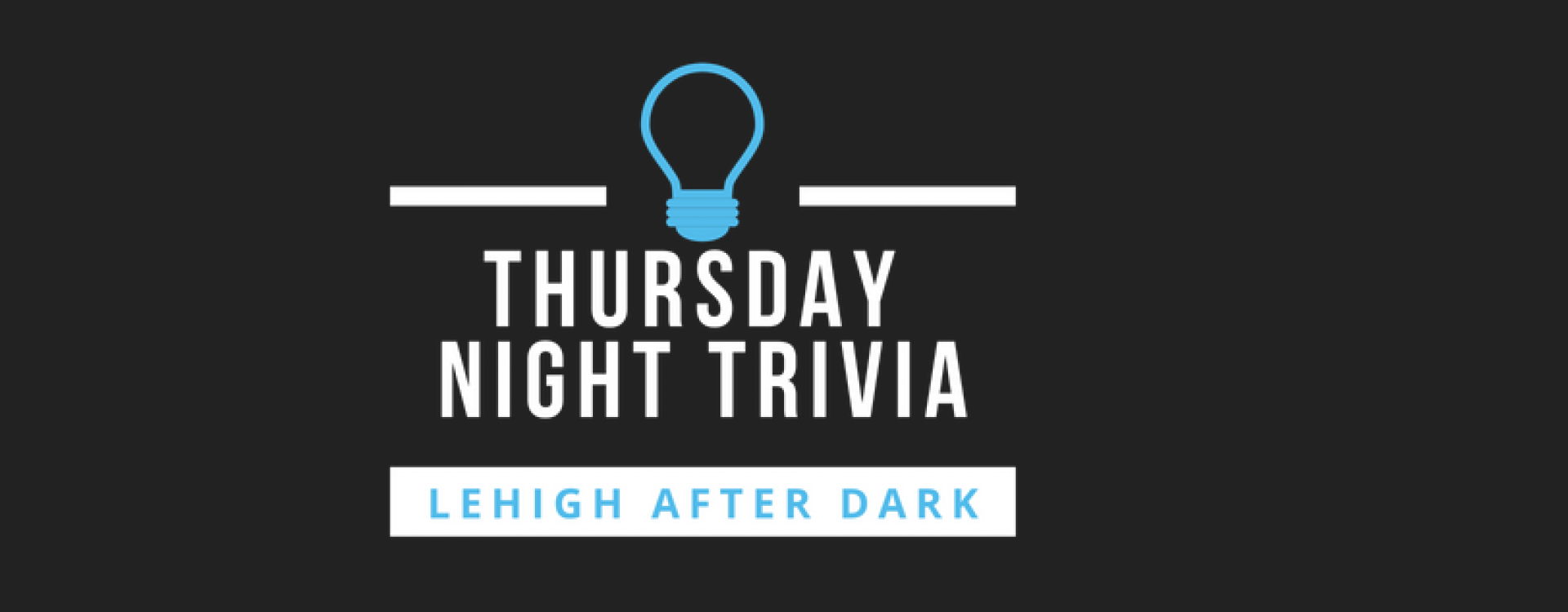 Trivia, Thursday nights @ Lamberton at 10pm